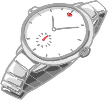 借金のキッカケは腕時計・・